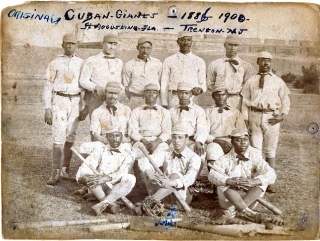 1885-1886 Cuban Giants