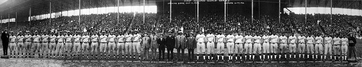 1924 Negro League World Series, Teams, Kansas City Monarchs and Hilldale Daisies Meeting in Kansas City, October 11, 1924