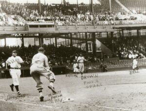 1937 Game Between Philadelphia Stars and the Homestead Grays