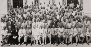 Archons in Attendance, Eighteenth Grand Boule, Baltimore, Maryland, August 23, 1946