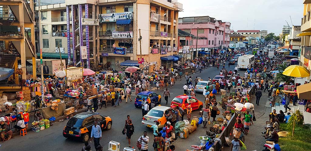 Central Accra, Ghana
