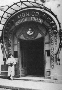 Ada Bricktop Smith in Front of Her Paris Nightclub, ca 1929
