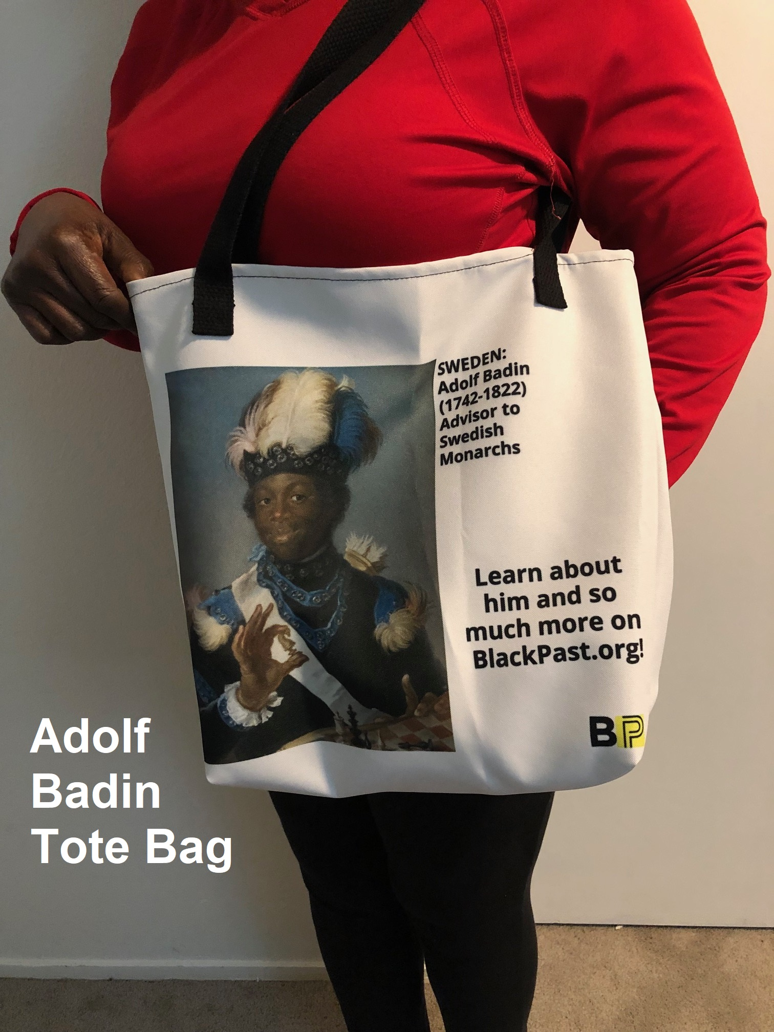 Adolf Badin Tote Bag