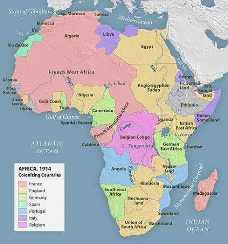 The Partition Of Africa Blackpast