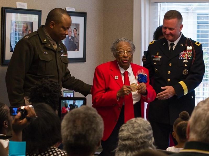 Amelia Robinson Jones (Staff Sgt Richard Wrigley 3rd ID, Public Affairs, US Army)