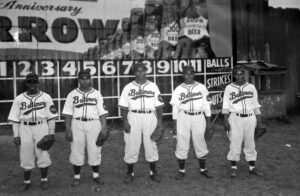Baltimore Elite Giants in Bugle Field