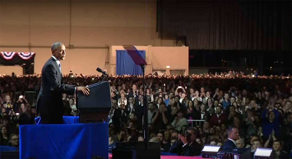 Barack Obama Delivers Farewell Address