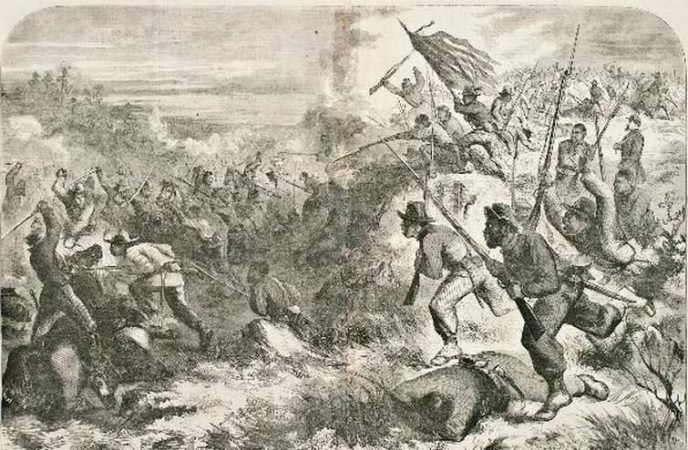 Battle of Island Mound, Missouri, 1862