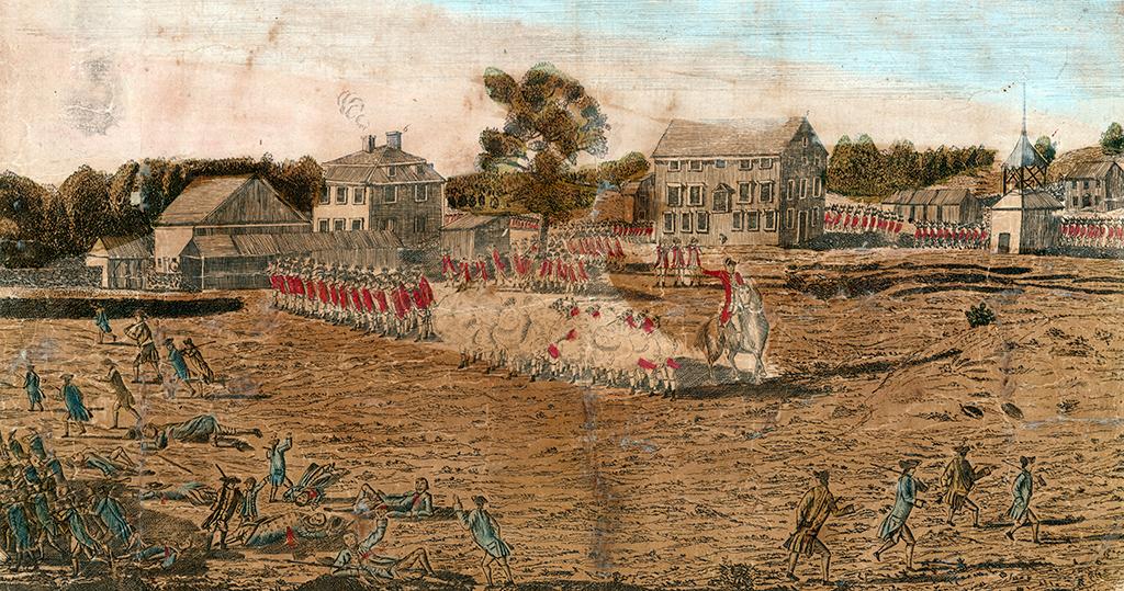 Amos Doolittle's Engraving of the Battle of Lexington, 1776