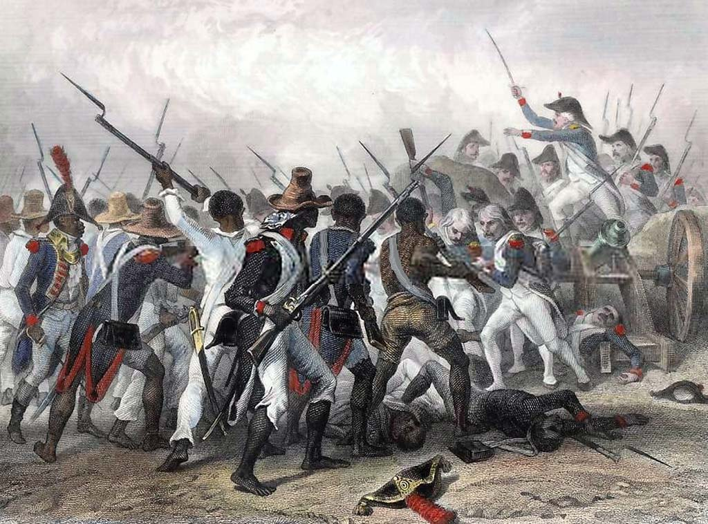 Battle of Vertières in 1803 Haitian Revolution