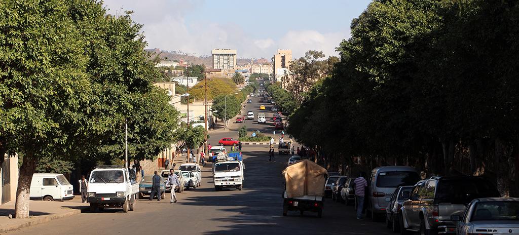 Beirut Street in Asmara, Eritrea