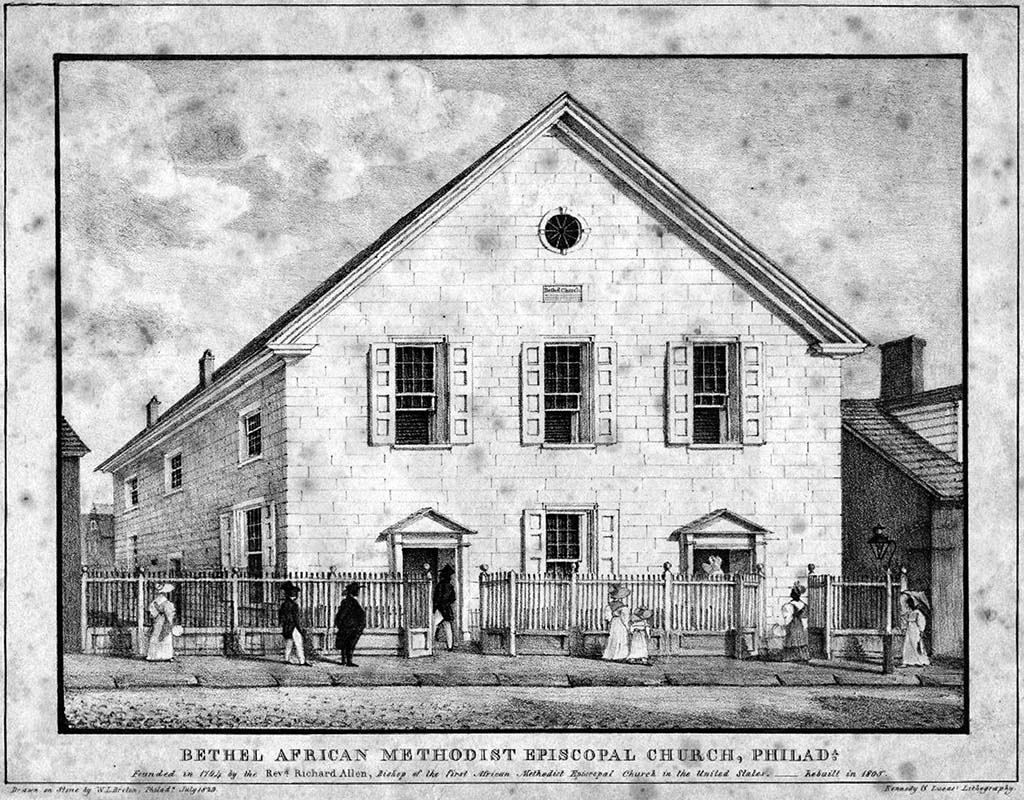 Mother Bethel AME Church, 1829
