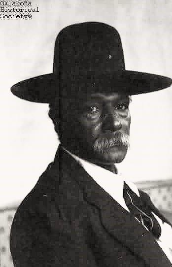 Bill Cobert, 1918, Choctaw Freedman, U.S. Deputy Marshall