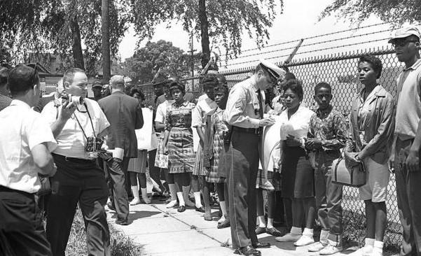 Birmingham Childrens Crusade 1963 (Image Courtesy of Alabama Historical Society)
