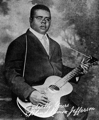 Jefferson, Blind Lemon (c. 1890-1929) | The Black Past: Remembered