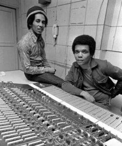 Bob Marley and Johnny Nash (Pinterest)