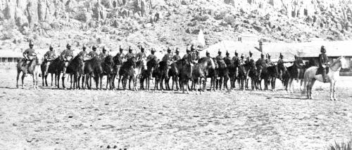 9th Cavalry, Fort Davis, 1875