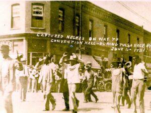 Captured Blacks on Way to Jail (Public Domain)
