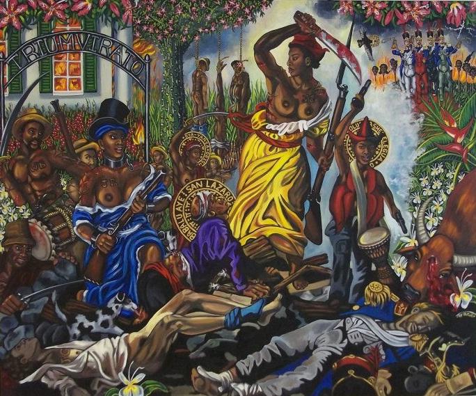 Carlota Leading the Slaves in Matanzas by Lili Bernard