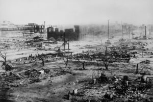 Carnage from the Tulsa Race Riot