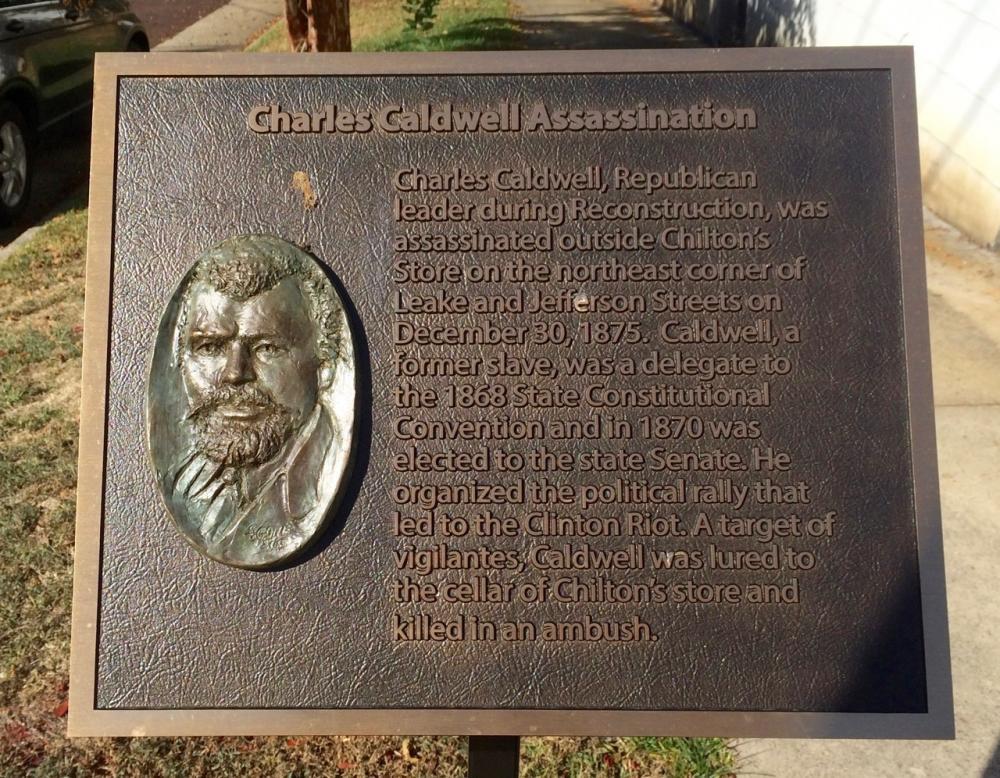 Charles Caldwell Assassination Marker