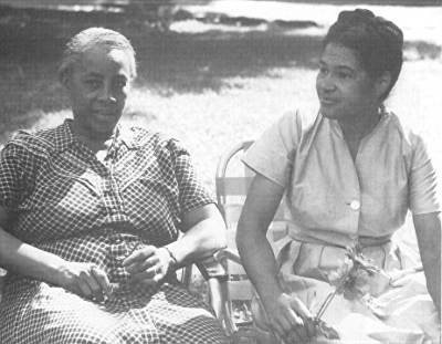 Septima Clark and Rosa Parks