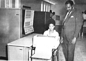 Clyde Foster with Trainee