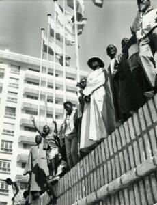 Dakar in April 1966