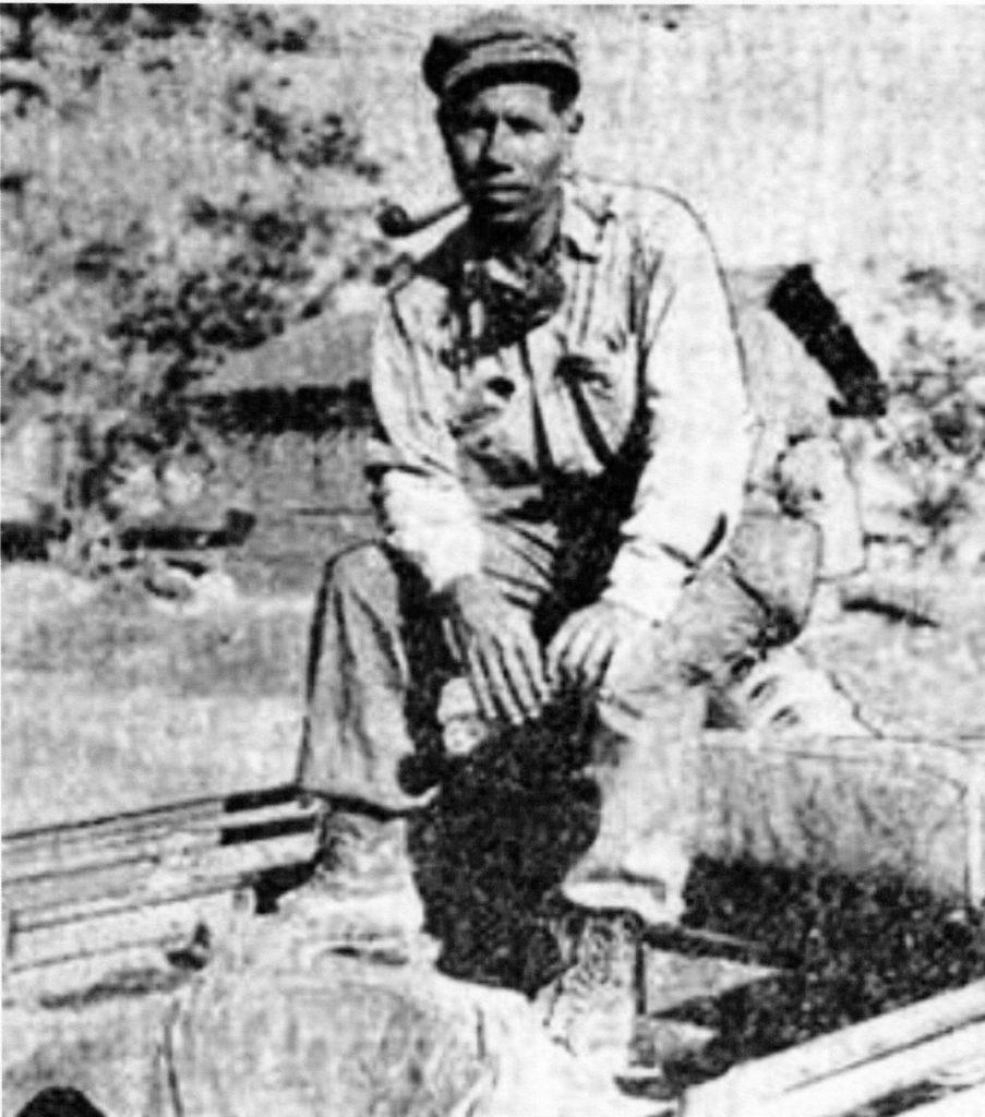Deton Brooks in India, ca. 1945