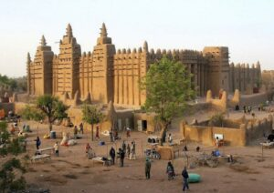Djenné Mosque, Built in the 13th Century, Rebuilt in 1907