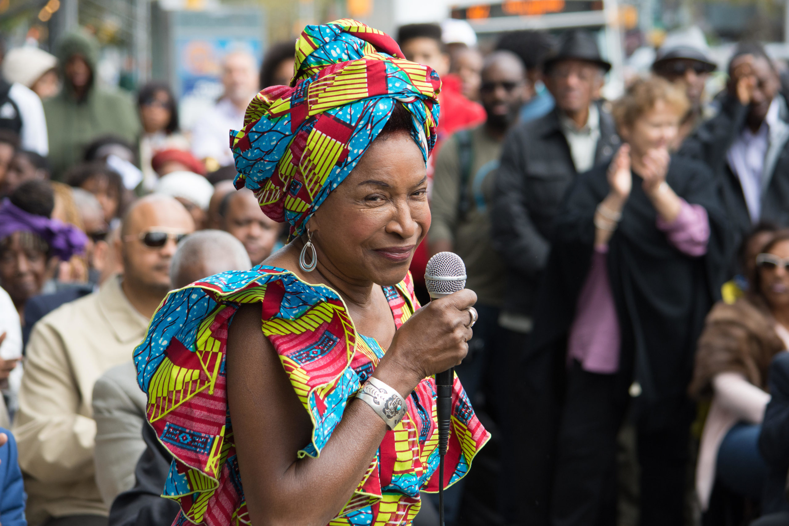 Dr. Georgina Falú in Harlem, Sept. 2017