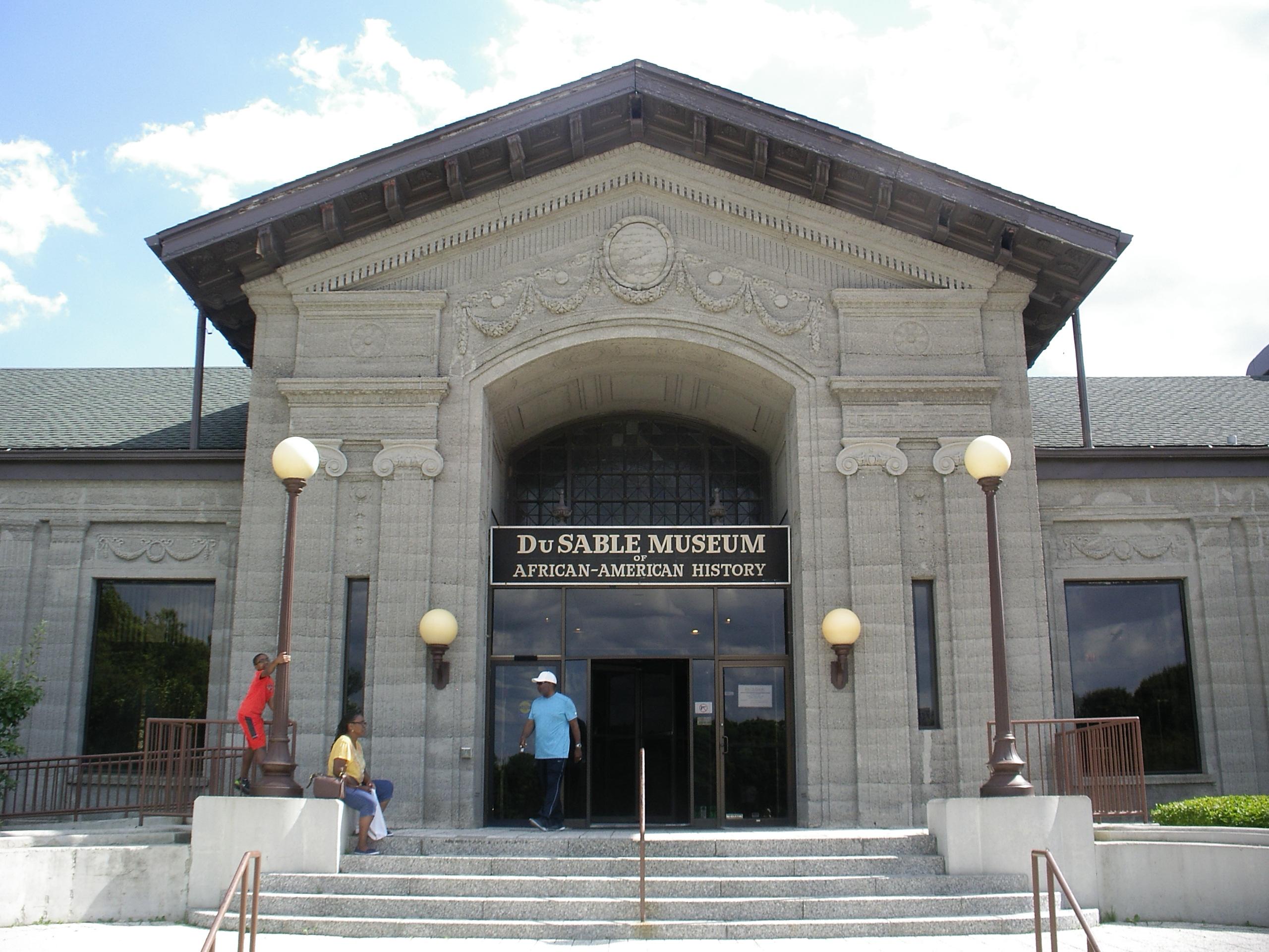 DuSable Museum, Front Entrance