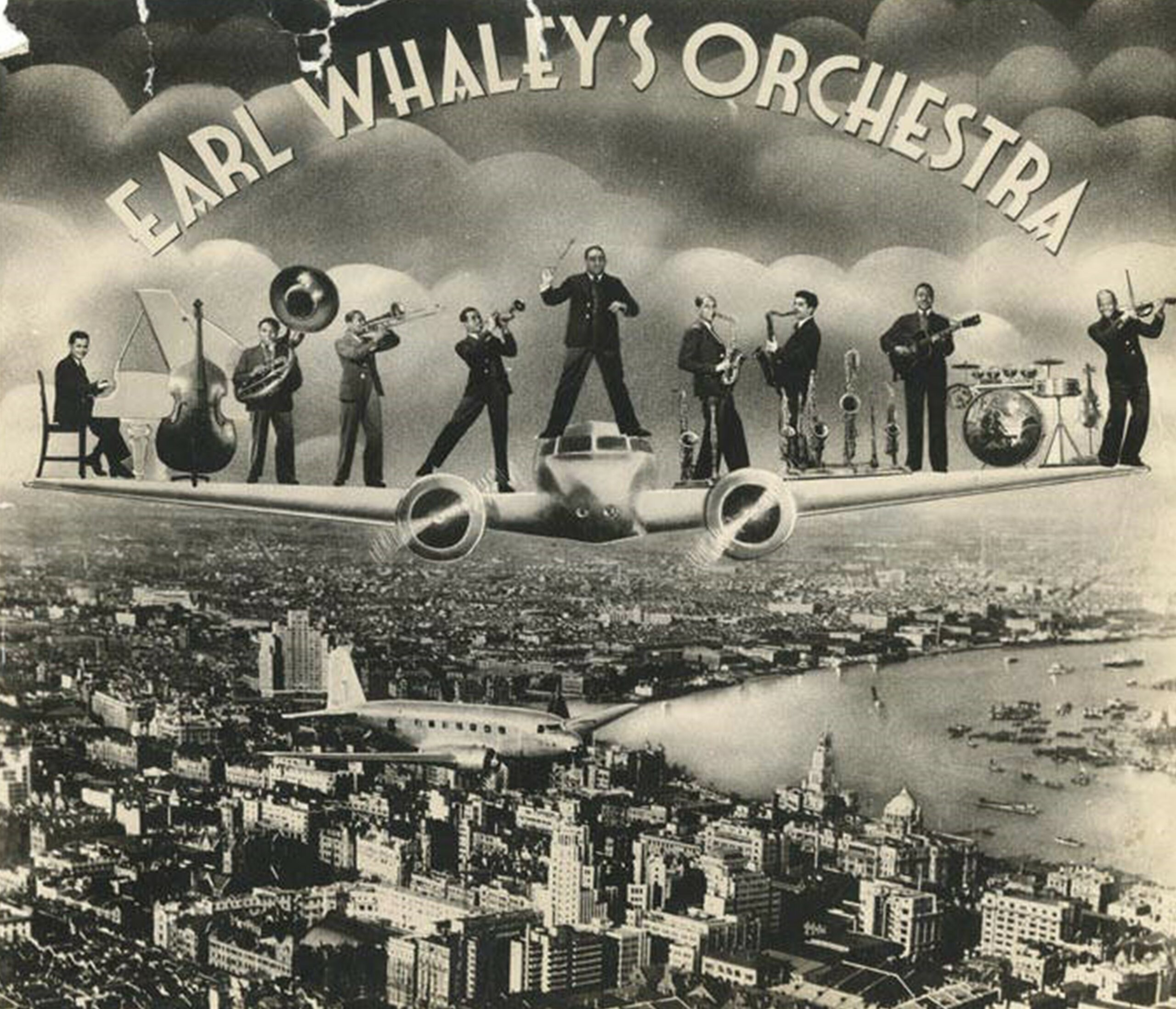 Earl Whaley's Orchestra Over Shanghai, ca 1937