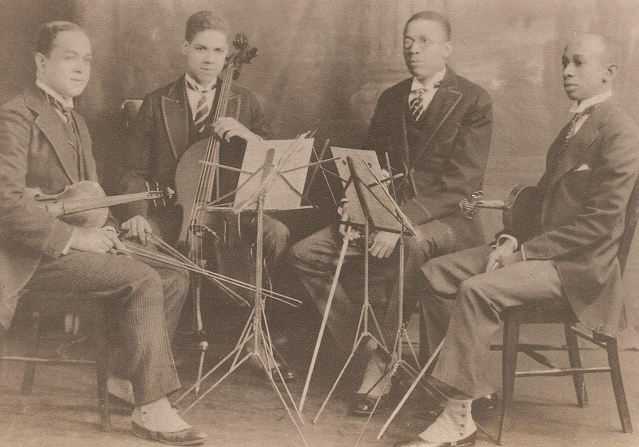Felix Weir, Marion Cumbo, Hall Johnson and Arthur Boyd, Negro String Quartet