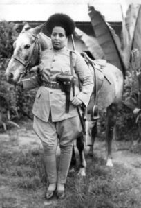 Female Soldier in the Ethiopian Army, 1935