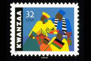 First Kwanzaa Stamp