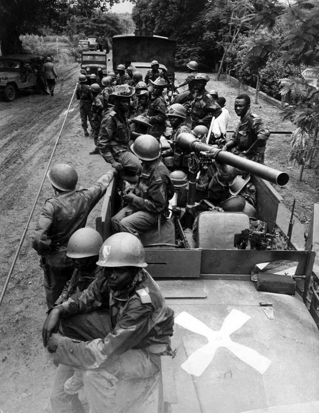 Government Troops in the Congo Civil War