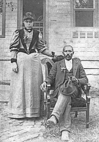 Junius Groves and Wife, Matilda, ca. 1895