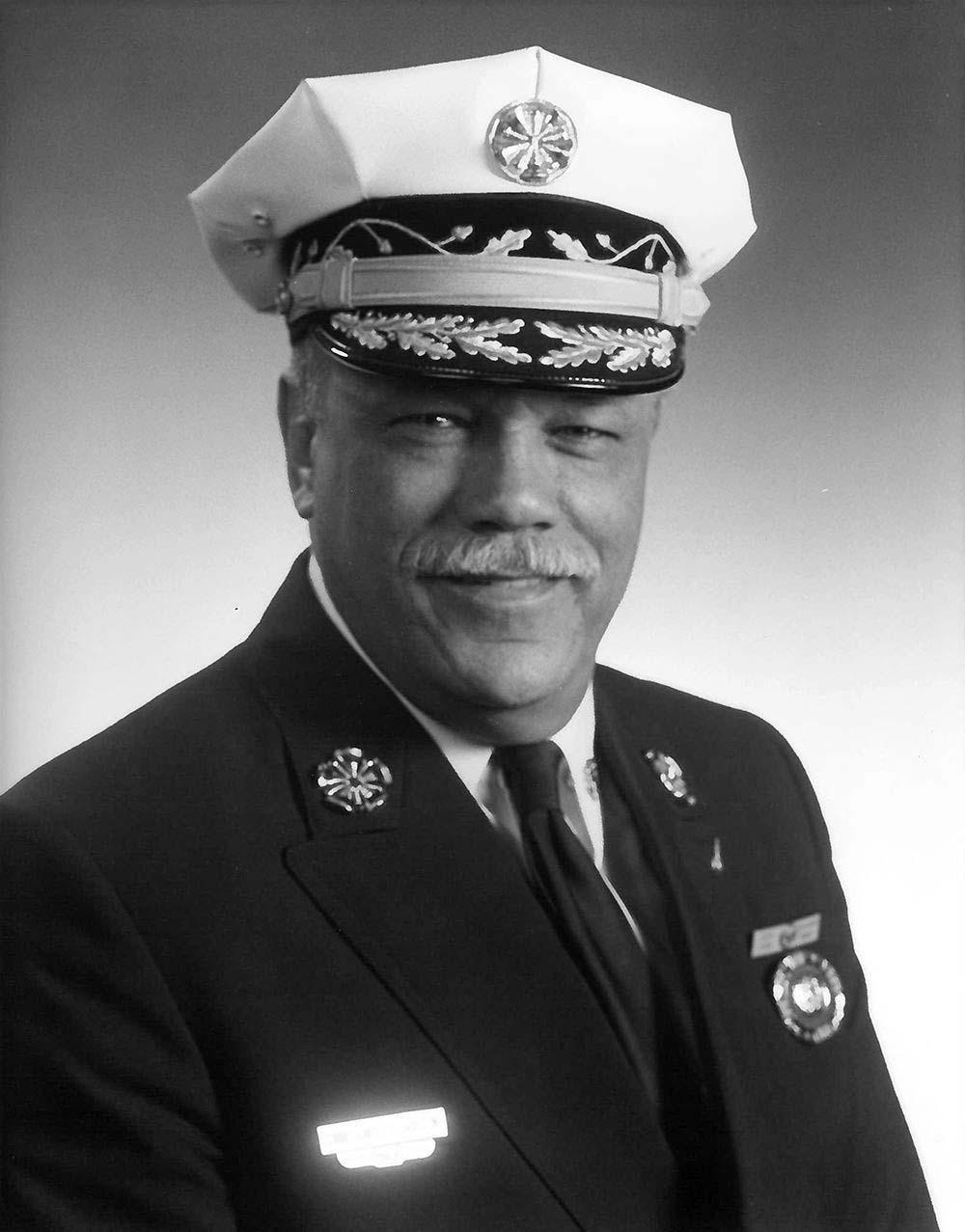 Philadelphia Fire Commissioner Harold Hairston