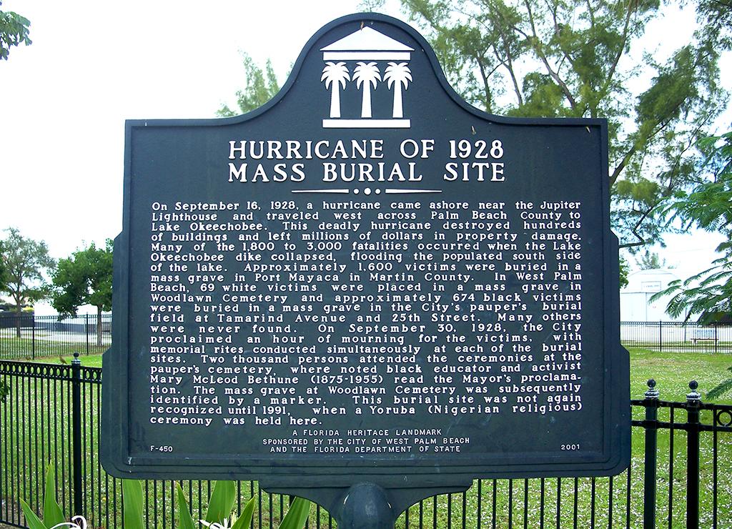 Hurricane of 1928 Mass Burial Site