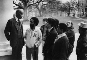 Ira Reid and Students