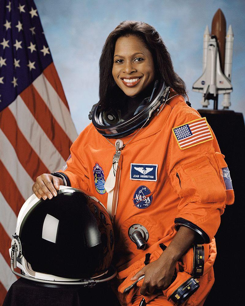Astronaut Joan Higginbotham, September 24, 2003