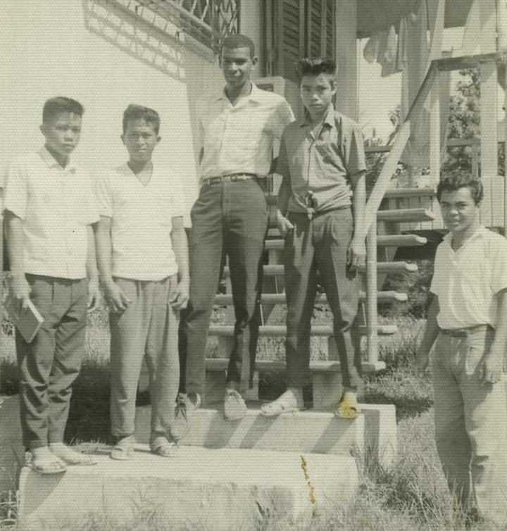 John Teamer (Middle) Serving in the Peace Corps in the Philippines, 1965