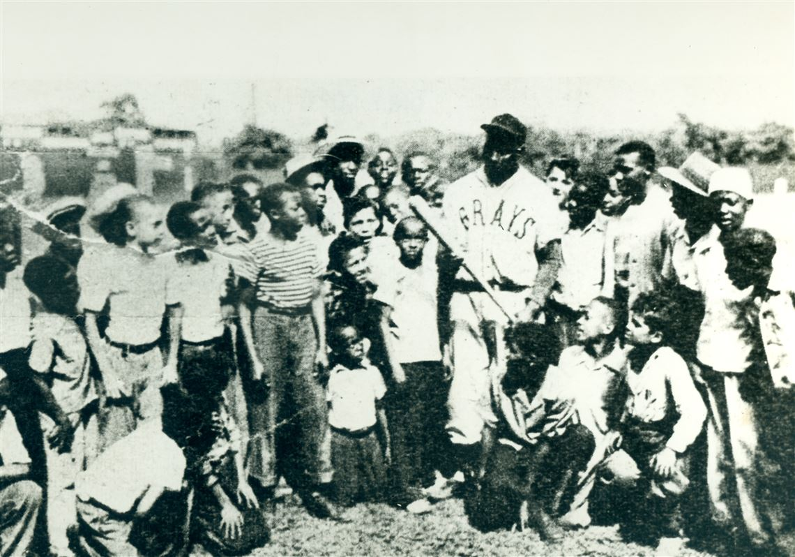 Josh Gibson With Fans