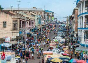 Kumasi Street Scene
