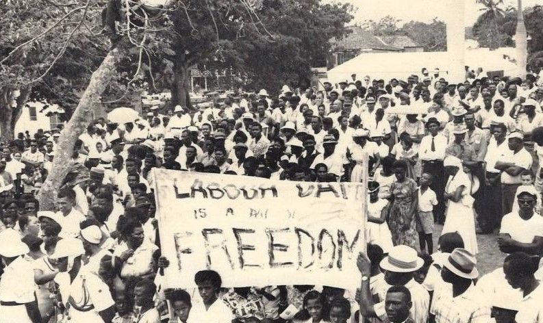 Labor Day March Commemorating the Burma Road Riot