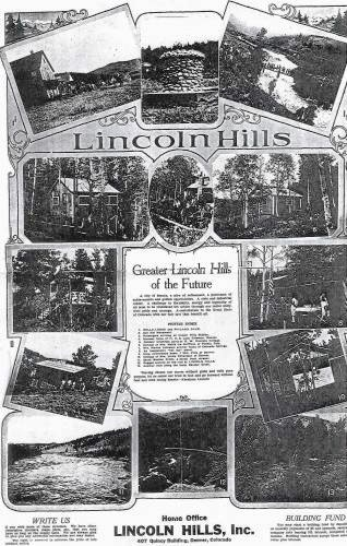 Lincoln Hills Advertisement, ca. 1924