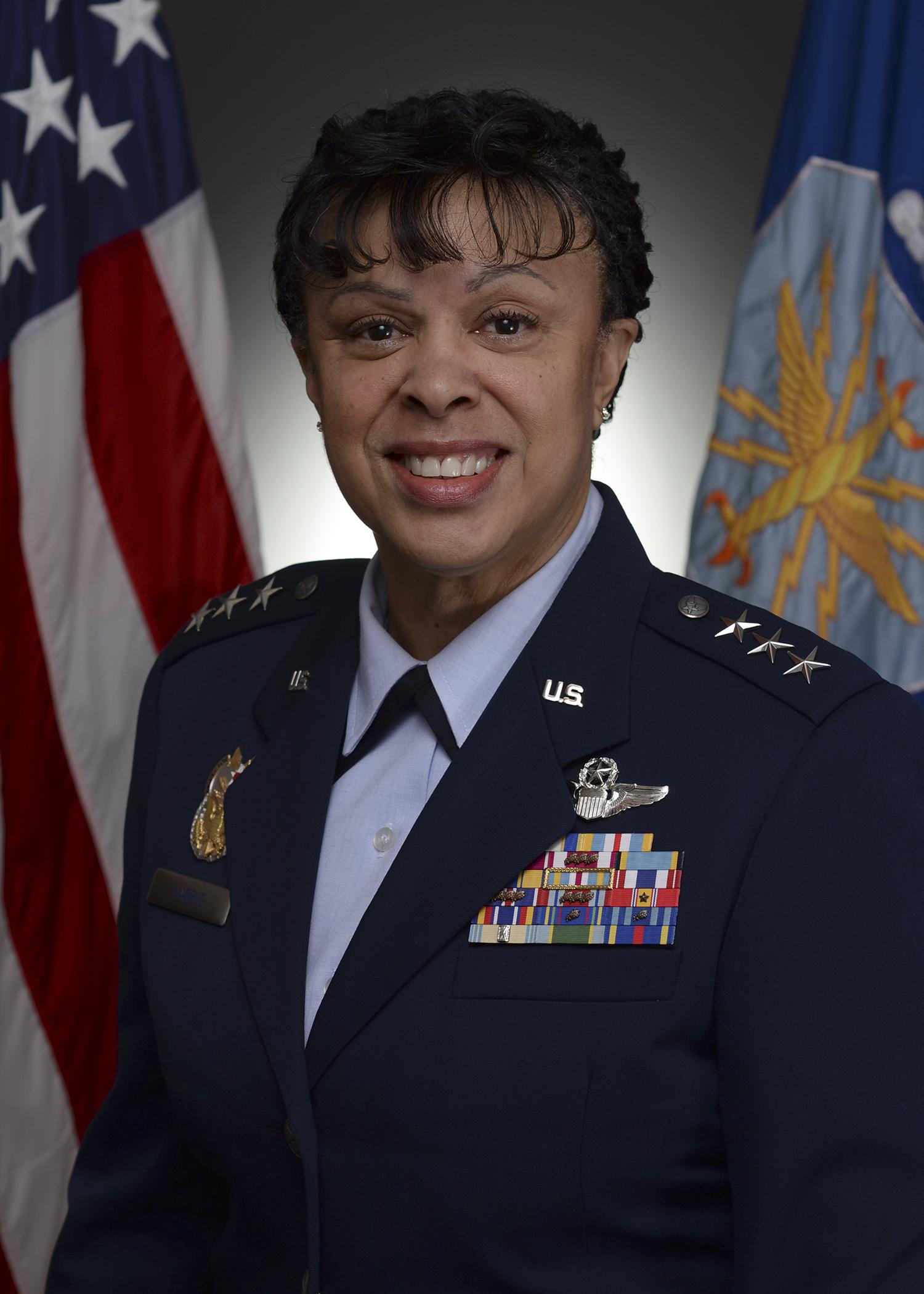 Lt Gen Stacey Harris