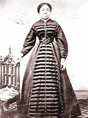 Lyda Newman in Dress