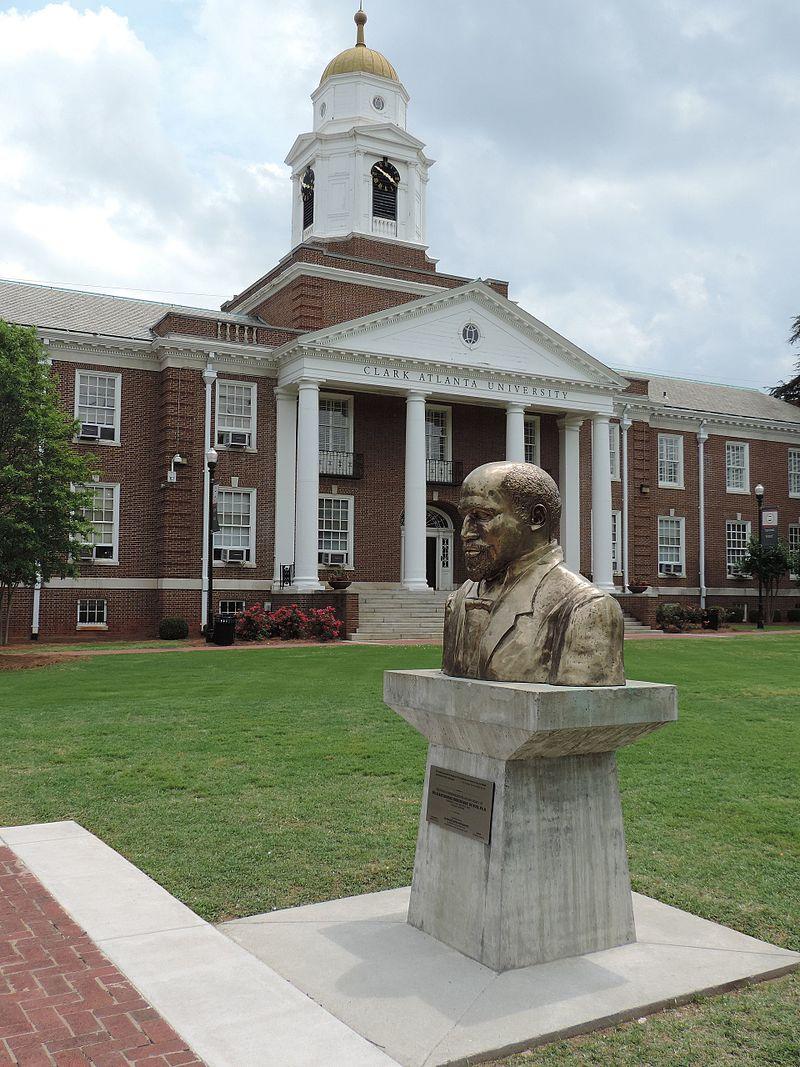 W.E.B. DuBois bust by Ayokunle Odeleye at Clark Atlanta University